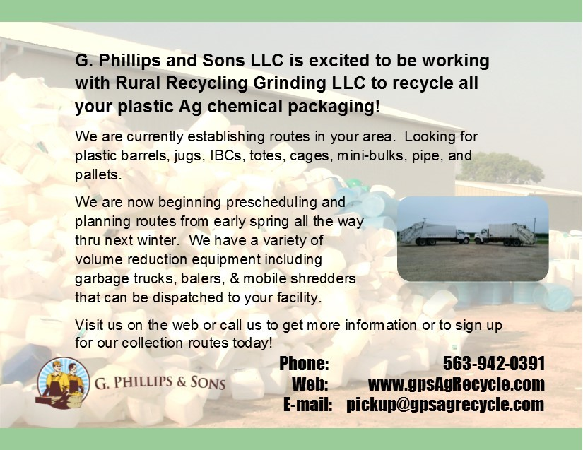 G. Phillips and Sons postcard for collection site operators